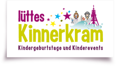 logo Lüttes Kinnerkrams Kindergeburtsage in Cuxhaven